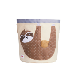 3 Sprouts Sloth Storage Bin
