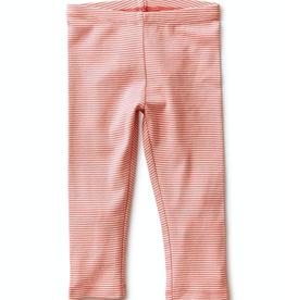 Tea Collection Striped Capri Leggings in Desert Rose for Girl