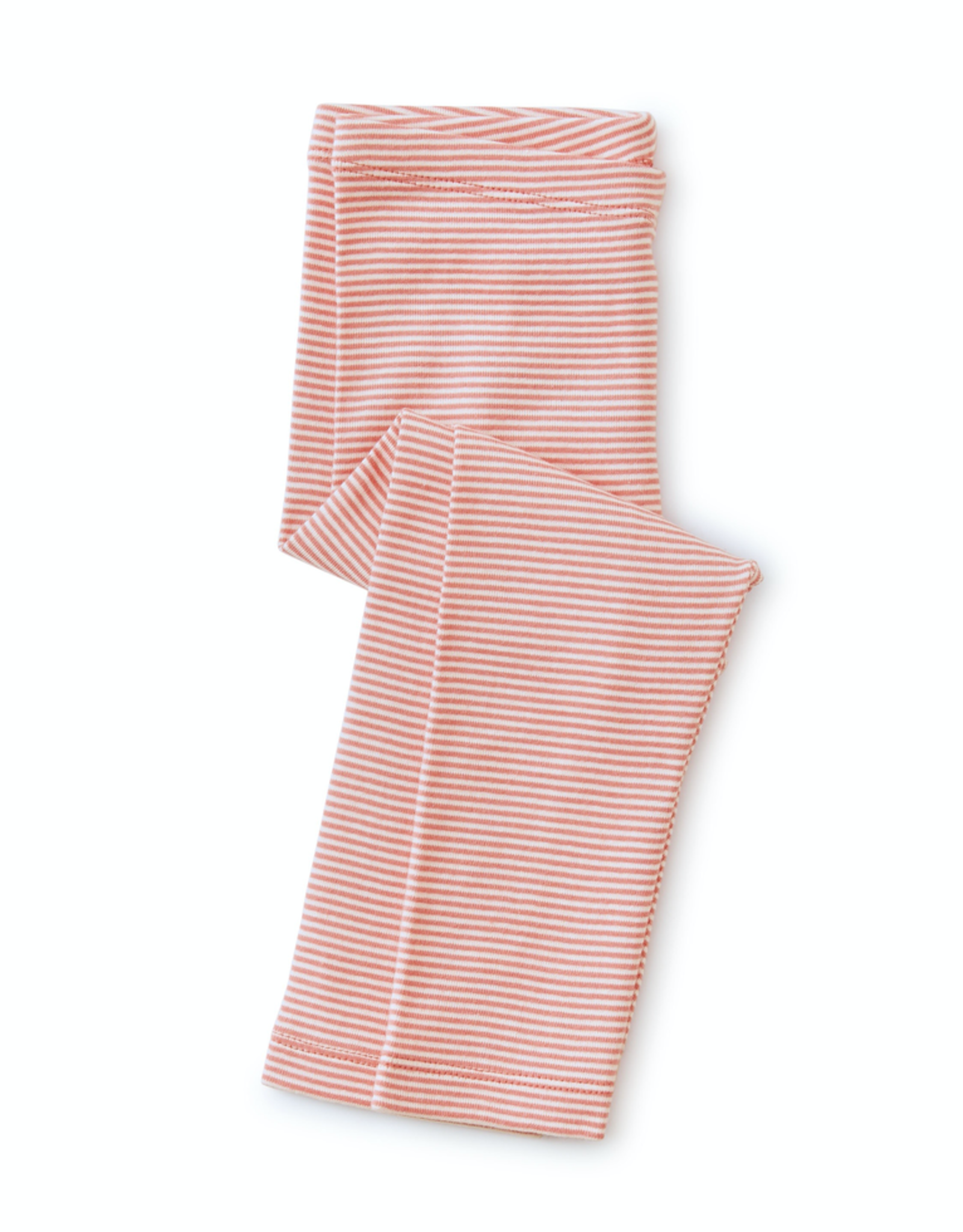 Tea Collection Striped Capri Leggings in Desert Rose for Girl