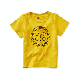 Tea Collection Sunshine Graphic Tee in Acacia for Boy