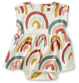 Tea Collection Sweet Sightings Dress Rainbows for Baby Girl