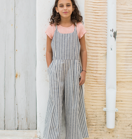 Tea Collection Striped Culotte Romper for Girl