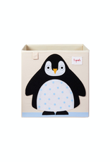 3 Sprouts Penguin Storage Box
