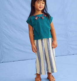 Tea Collection Wide Leg Pants for Girls in Astral