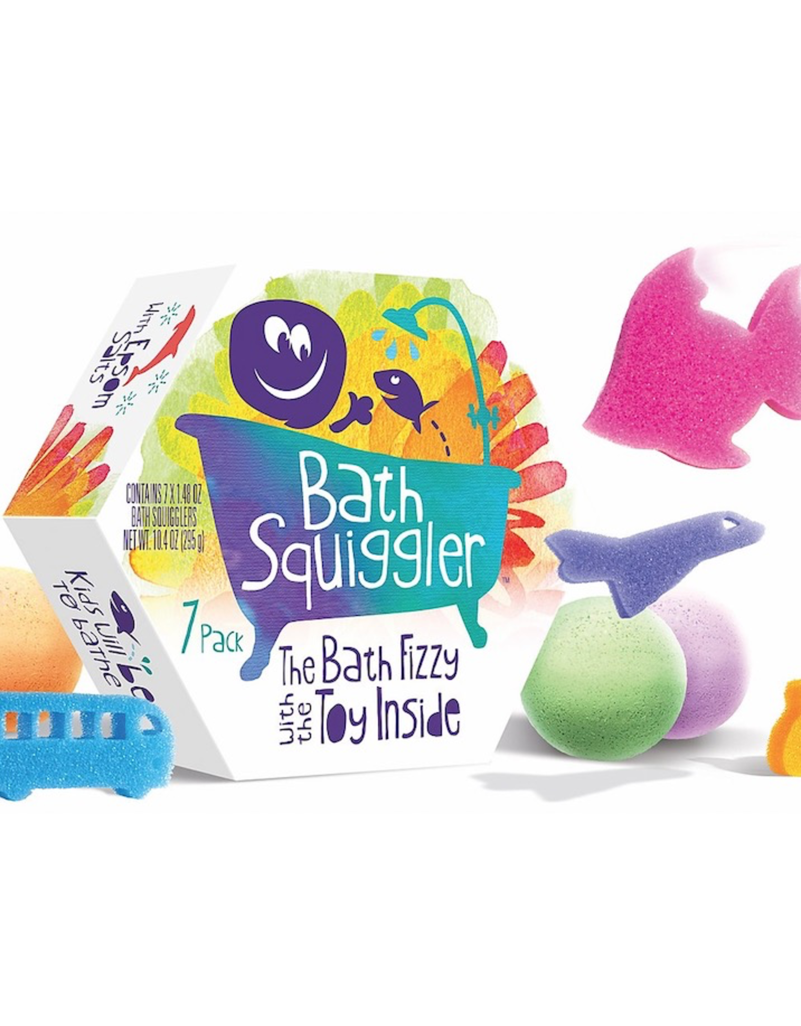 Loot Toys Gift Pack, Bath Fizzy with Hidden toy