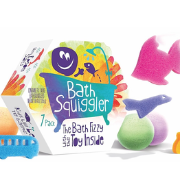Bath Squigglers Gift Pack, Bath Fizzy with Hidden toy