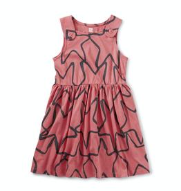 Tea Collection Starfish Button Shoulder Dress