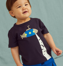 Tea Collection Glow In The Dark Submarine Baby Tee