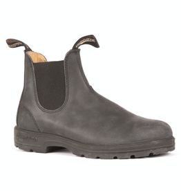 Blundstone 587 Rustic Black Leather Lined Boot