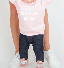 "Brunette The Label The ""I GOT IT FROM MY MAMA"" Little Babes Sweatshirt 