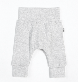 Heather Grey Grow With Me Pant with Organic Cotton