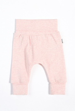 Heather Pink Grow With Me Pant with Organic Cotton