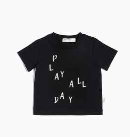 Black Play All Day T-Shirt