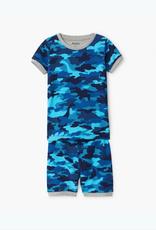 Hatley Dino Camo Organic Cotton Short Pajama Set