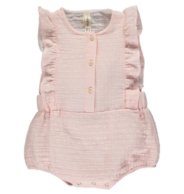 Vignette Megan Bubble Romper in Rose