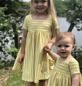 Vignette Rylie Dress in Lemon