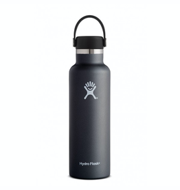 Hydro Flask 21 oz Standard Mouth in Black