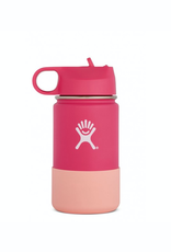 Hydro Flask 12 oz Kids Wide Mouth Straw Lid Bottle in Watermelon