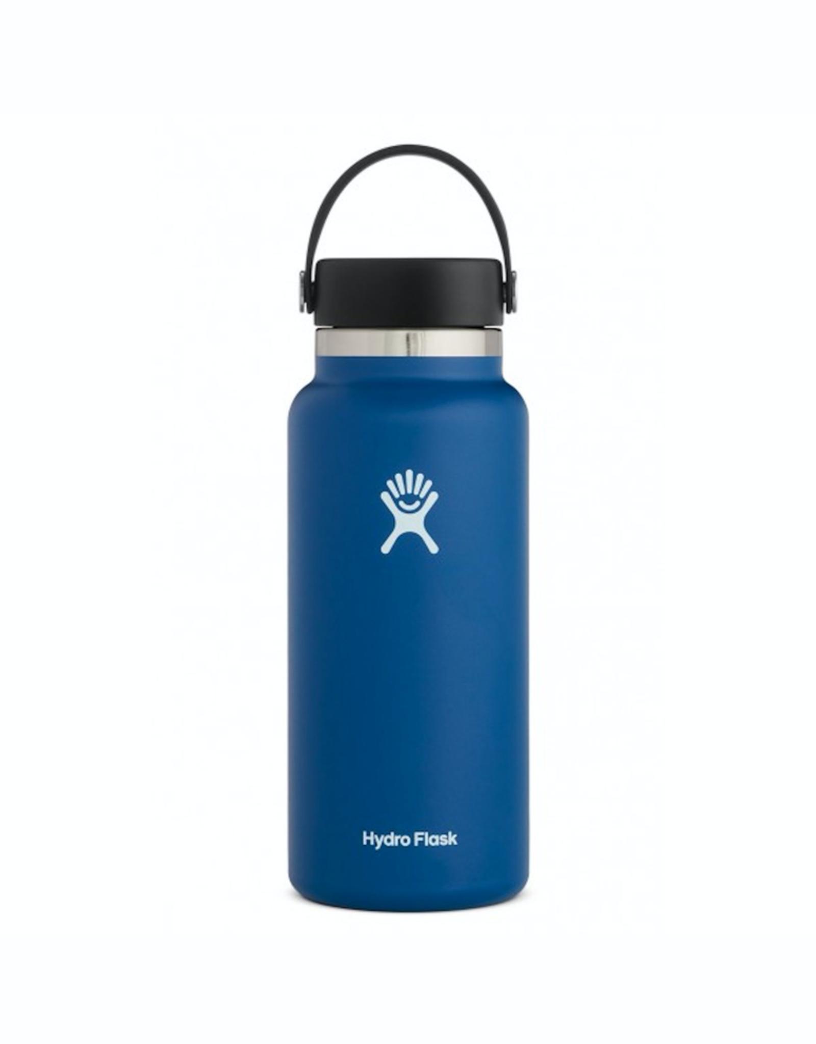 Hydro Flask 32 oz Wide Mouth Flex Cap Bottle in Cobalt