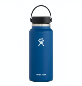 Hydro Flask 32 oz Wide Mouth Flex Cap Bottle in Cobalt
