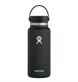 Hydro Flask 32 oz Wide Mouth Flex Cap Bottle in Black