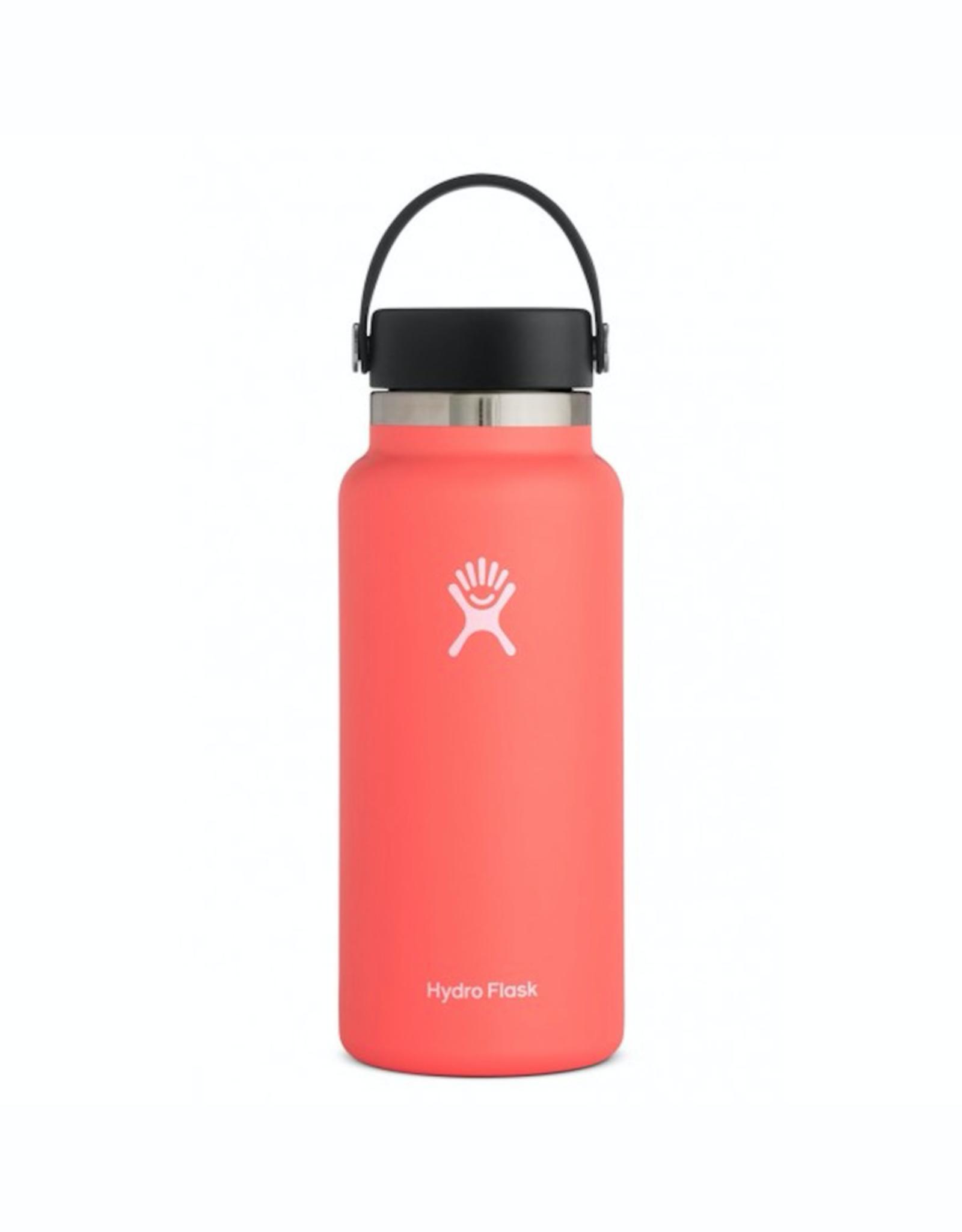 Hydro Flask 32 oz Wide Mouth Flex Cap Bottle in Hibiscus