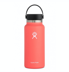 Hydro Flask 32 oz Wide Mouth Flex Cap Bottle in Hibiscus