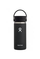 Hydro Flask 16 oz Wide Mouth  Flex Sip Lid Bottle in Black
