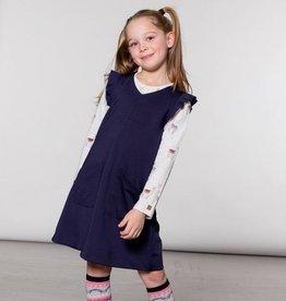Deux Par Deux Milano Overall Jumper Dress for Girl
