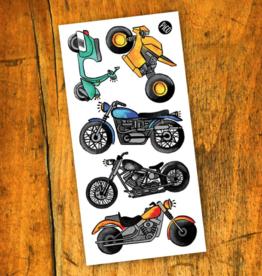 PiCO Tatoo Motocycle Love Tattoos,