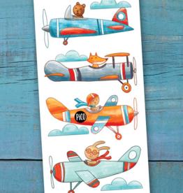 PiCO Tatoo Plane Ride Tattoos,