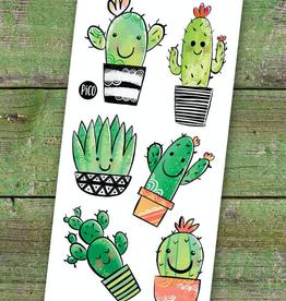 PiCO Tatoo Cute Cacti