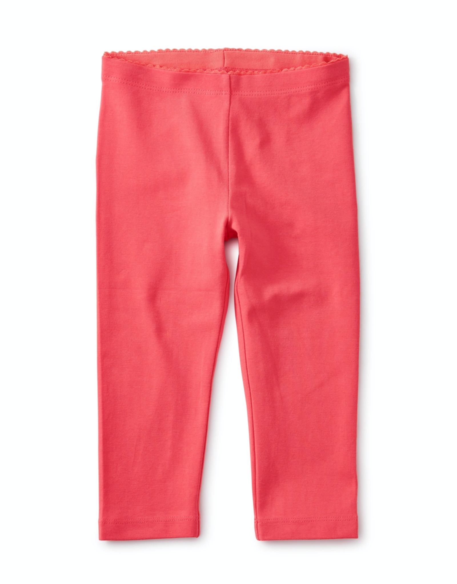 Tea Collection Flat Neon Rosa Solid Capri Leggings