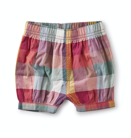 Tea Collection Suez Plaid Bubble Shorts