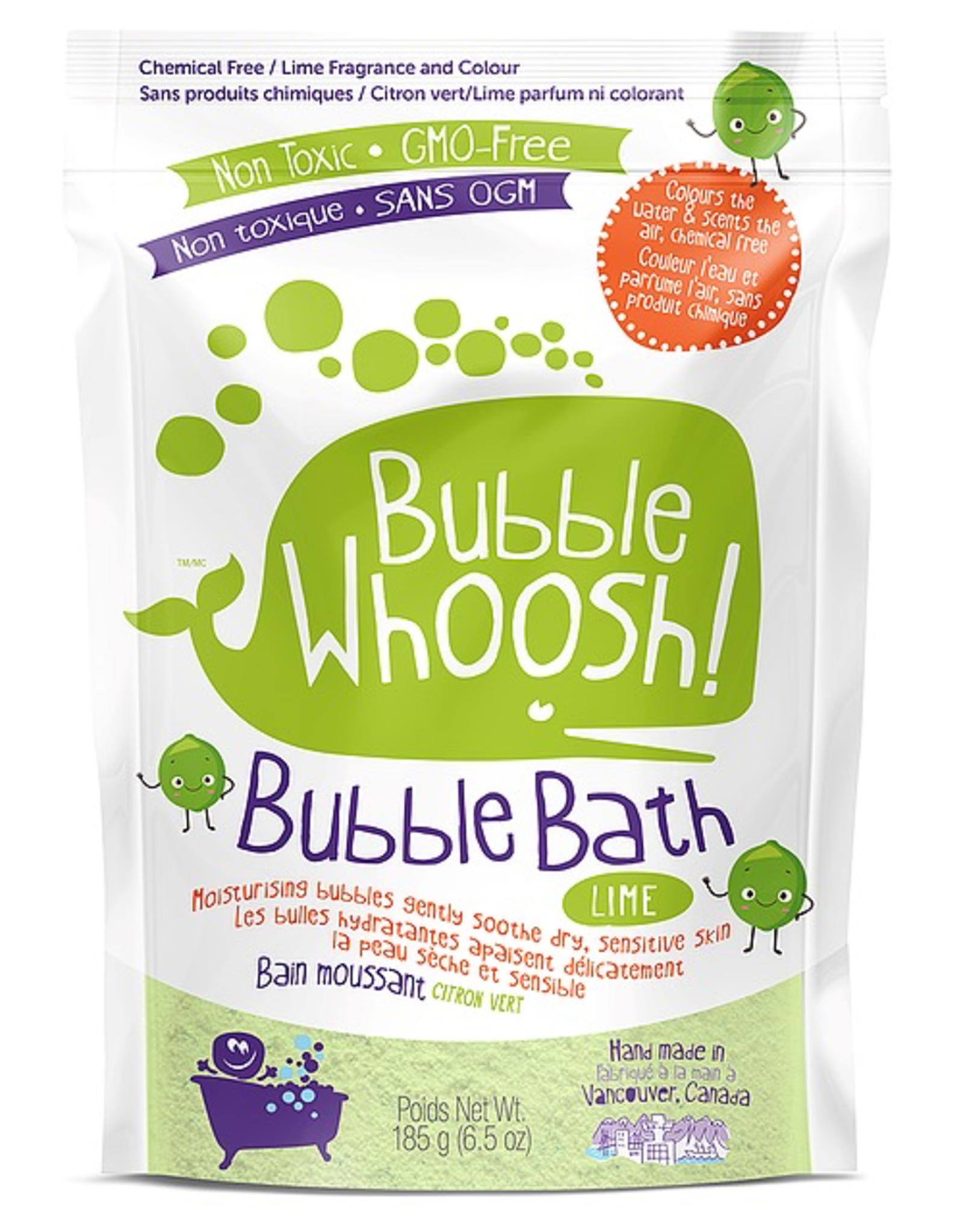 Loot Toys Bubble Whoosh Bubble Bath in Lime
