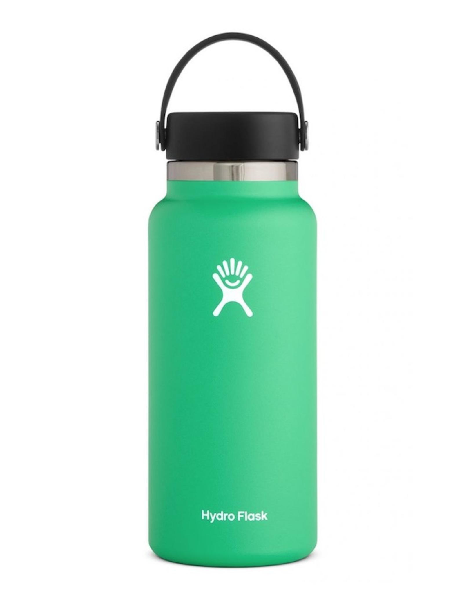 Hydro Flask 32 oz Wide Mouth Flex Cap Bottle in Spearmint