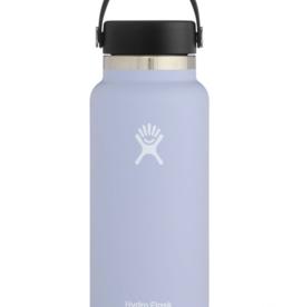Hydro Flask 32 oz Wide Mouth Flex Cap Bottle in Fog