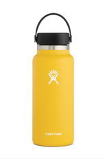 Hydro Flask 32 oz Wide Mouth Flex Cap Bottle in Sunflower