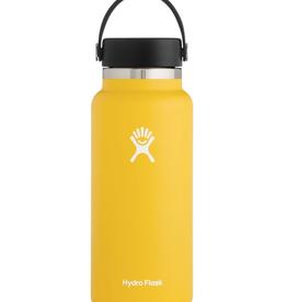 Hydro Flask 32 oz Wide Mouth Flex Cap Bottle in Sunflower