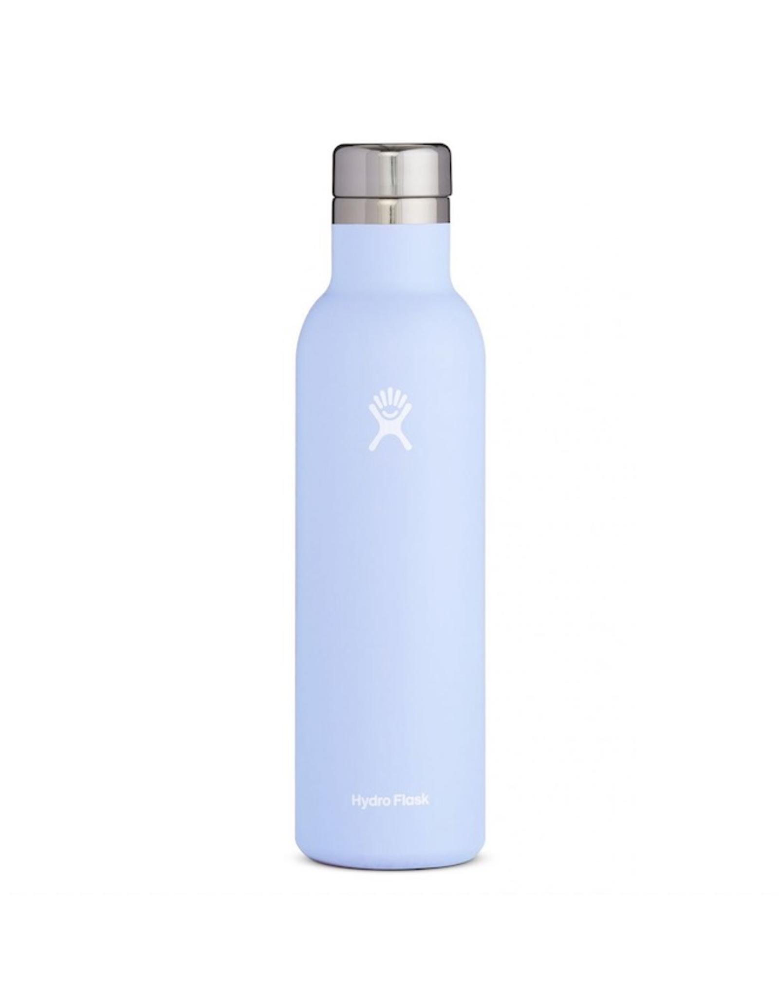 Hydro Flask 25 oz Wine Bottle in Fog