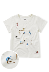 Tea Collection Gymnastics Gems Tee