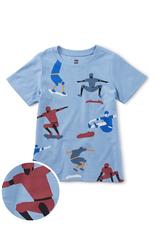 Tea Collection Kick Push Skateboard Tee