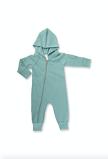 Sapling Organic Dusk Green Winter Zipsuit