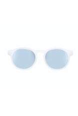 Babiators Jet Setter Polarized Junior Sunglasses, White Blue