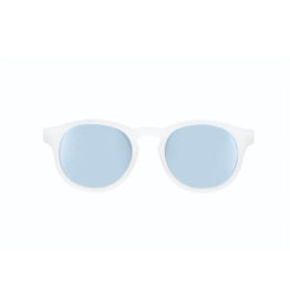 Babiators Jet Setter Polarized Sunglasses, White Blue