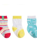 Robeez Sunny Skies Kick Proof Socks 3-Pack
