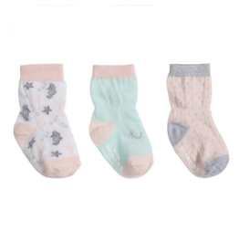 Robeez Coral Kick Proof Socks