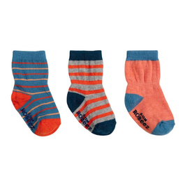Robeez Jack Kick Proof Socks 3-Pack