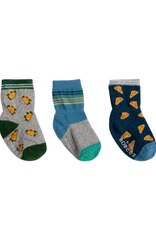 Robeez Taco About Pizza Kick Proof Socks 3-Pack