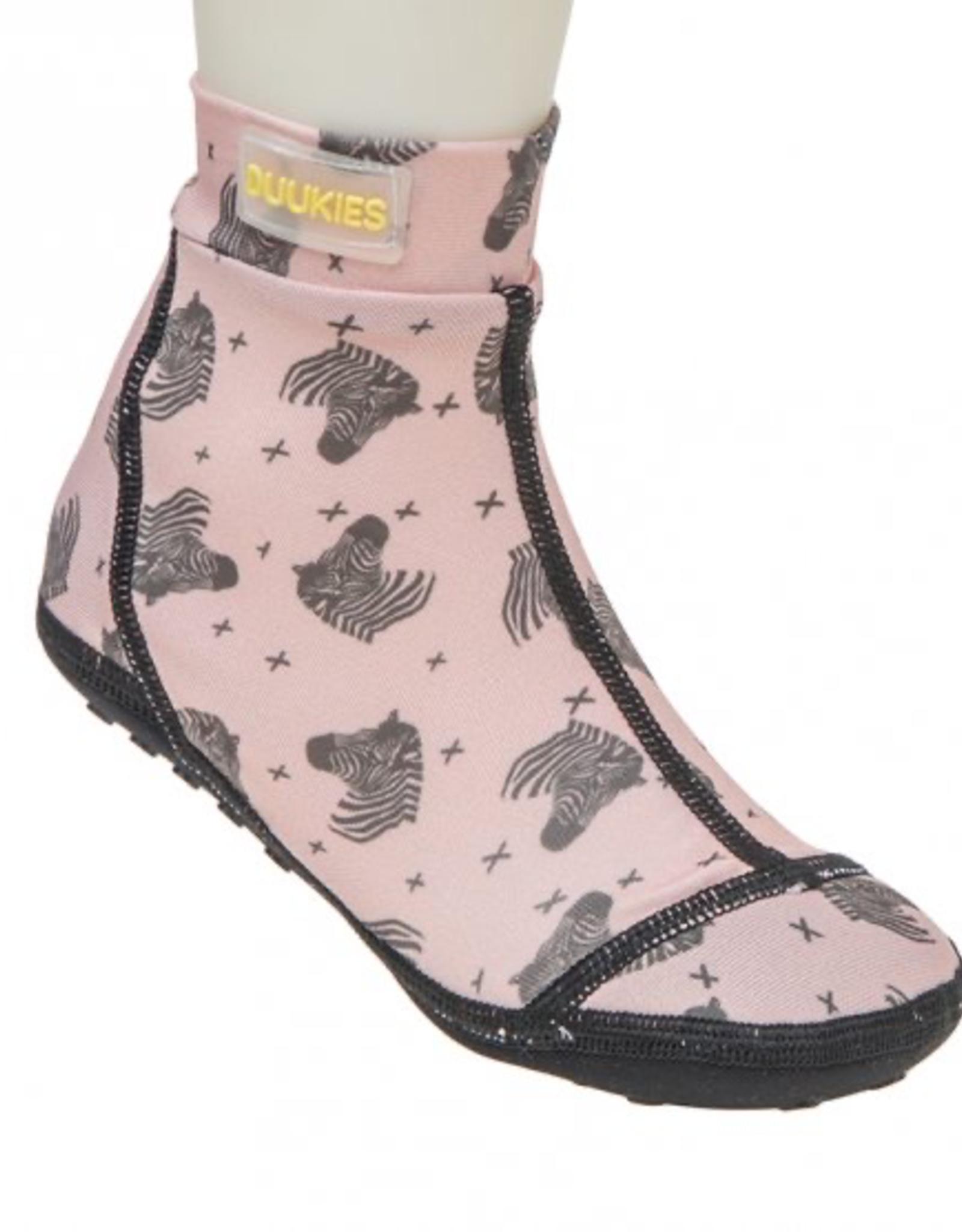 Duukies Beach Socks in Zebra